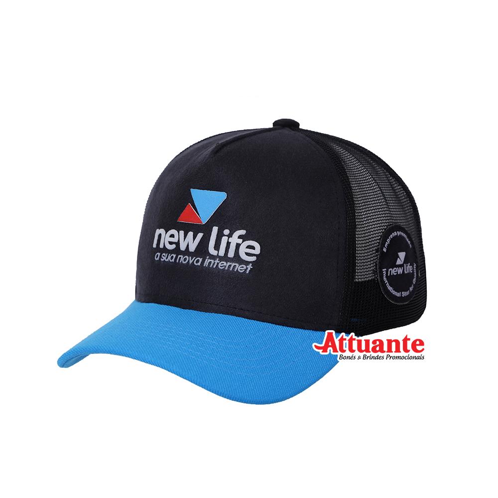 Boné New Life Internet
